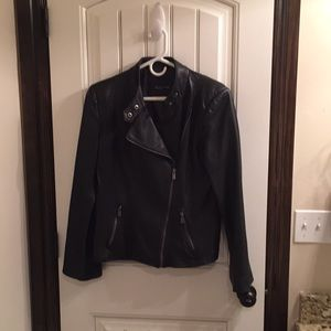 Jones New York Signature leather Jacket